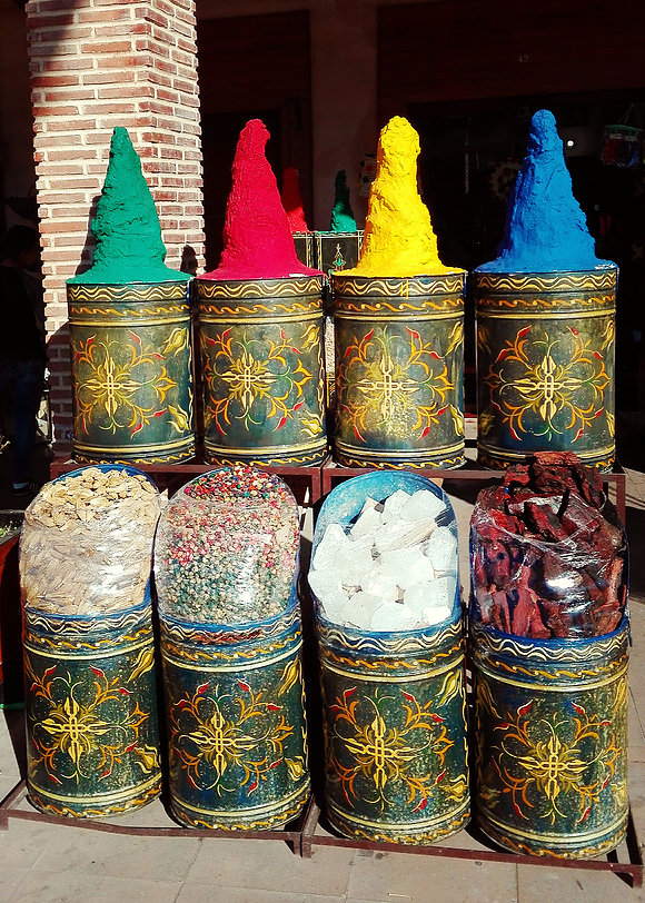 Colors of Marrakesh