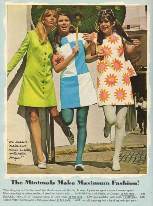 minimal 60s fashion
