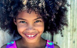 afro beautiful child