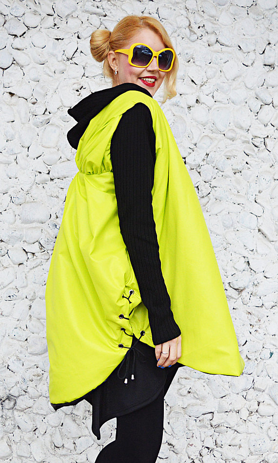 lime yellow jacket