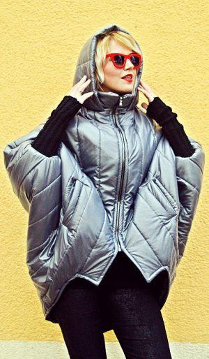 grey cocoon jacket