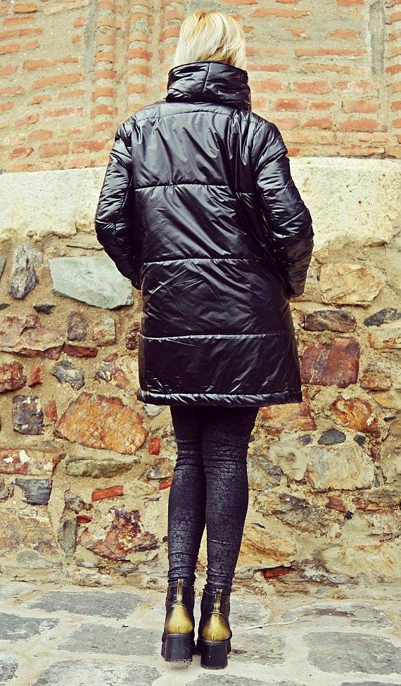 shiny winter jacket