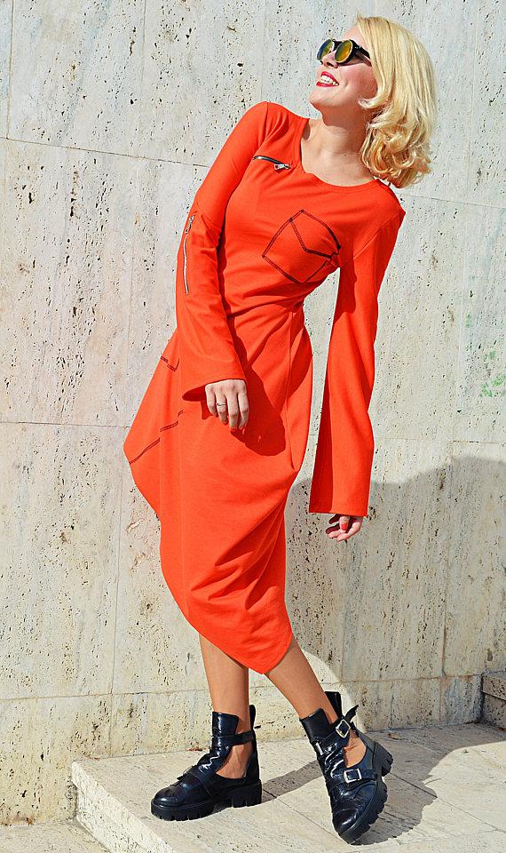 zipper dress