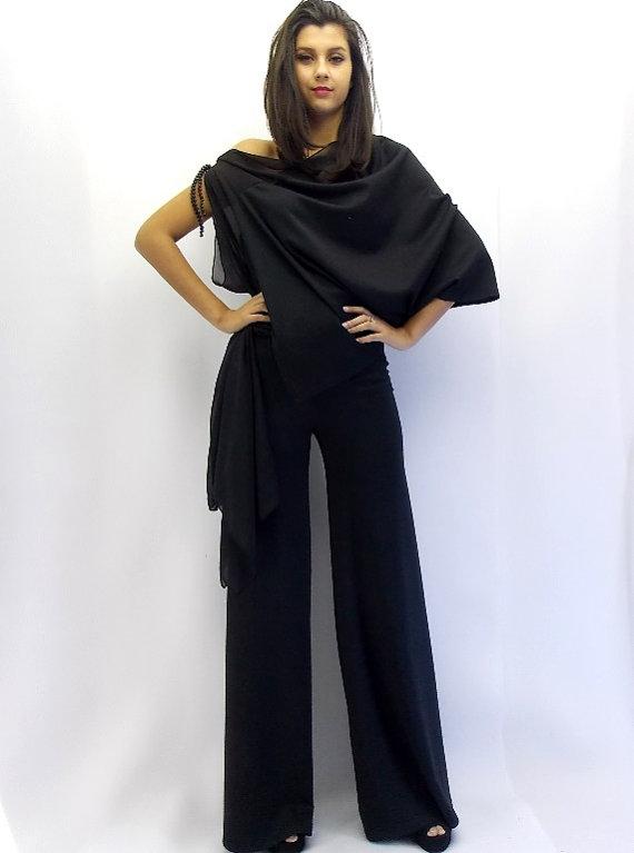 2018 shoes luxuriant in design hot-selling authentic Black Jumpsuit, Plus Size Jumpsuit TJ01