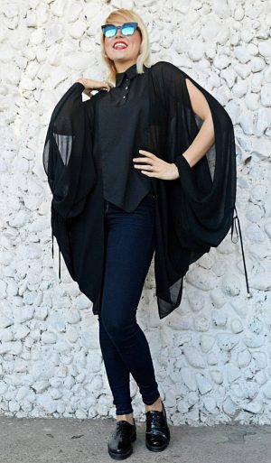 black wing blouses