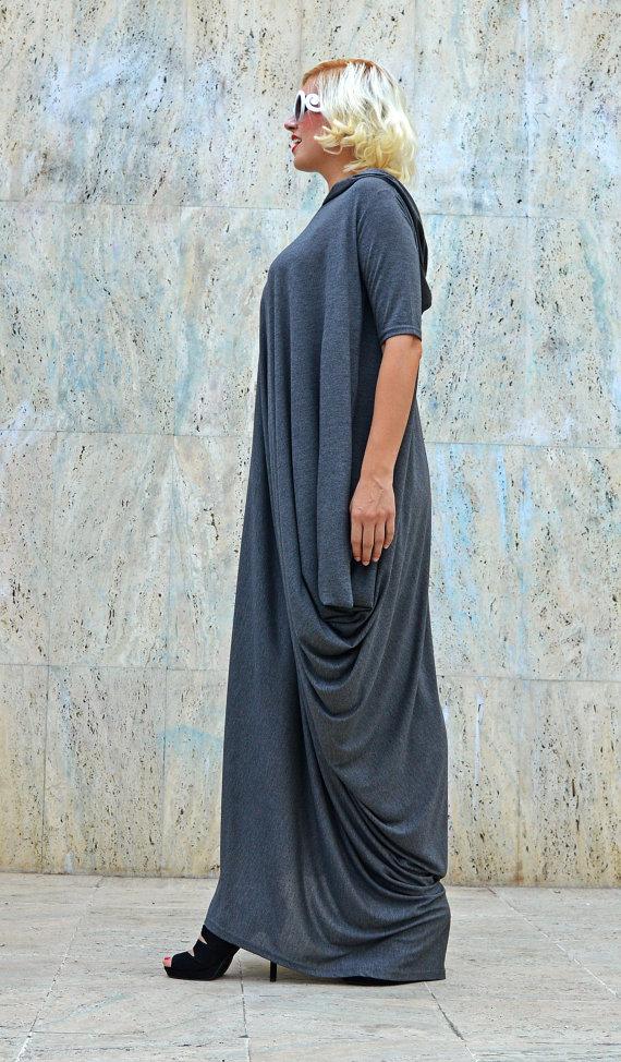 loose grey dress