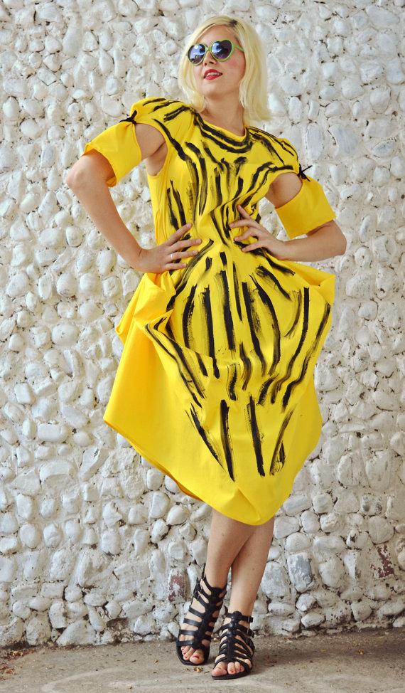 summer painted dress