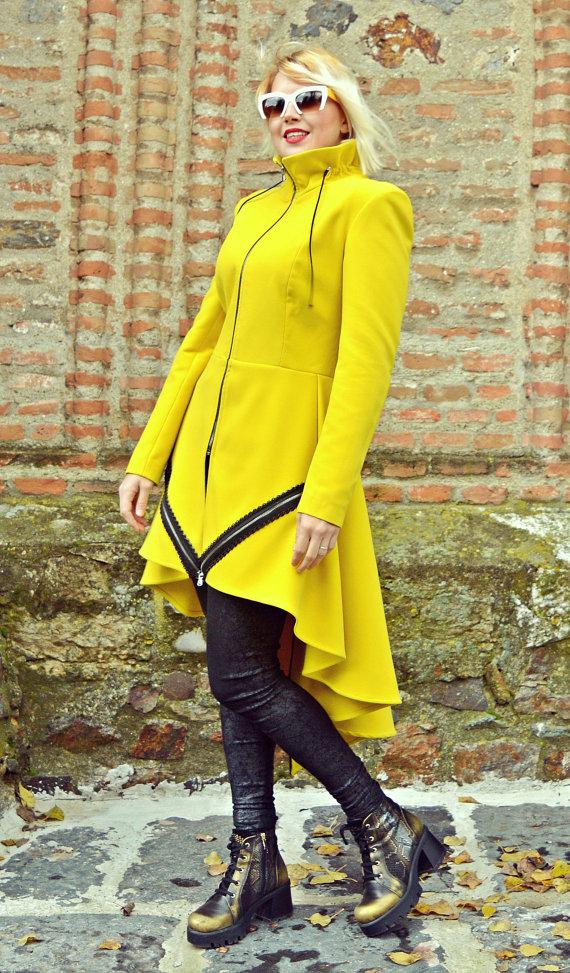 zipper coat