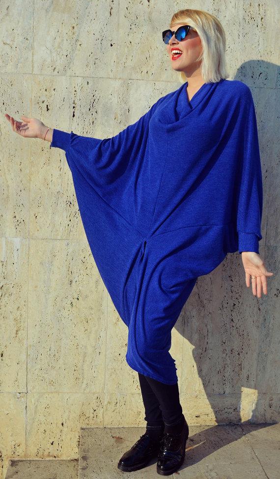 royal blue acrylic top