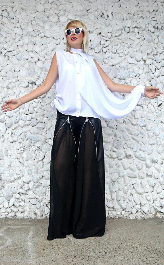 latex pants