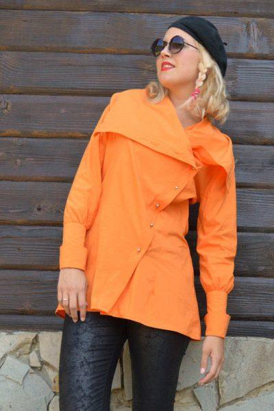 orange deconstructed top