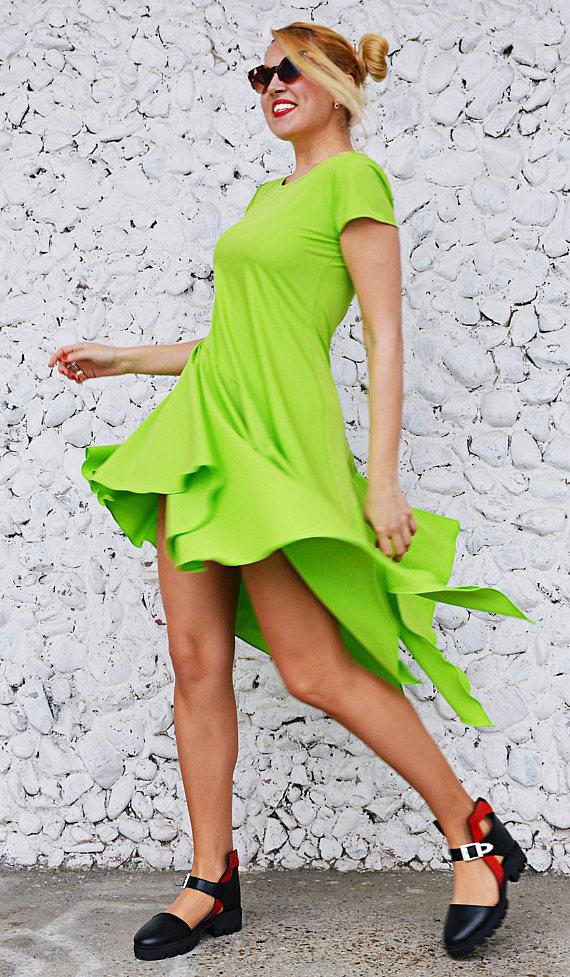 lime dresses