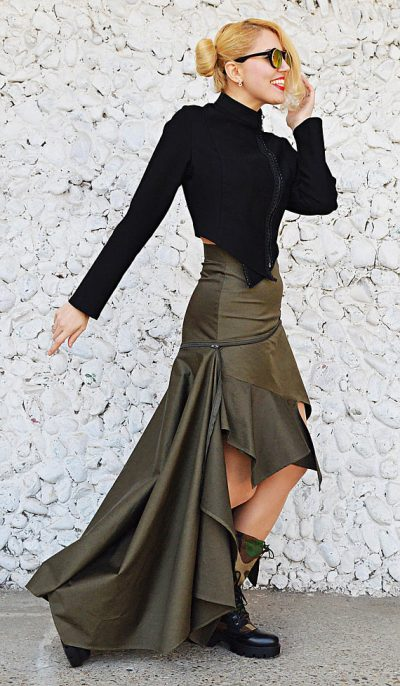 army convertible skirt