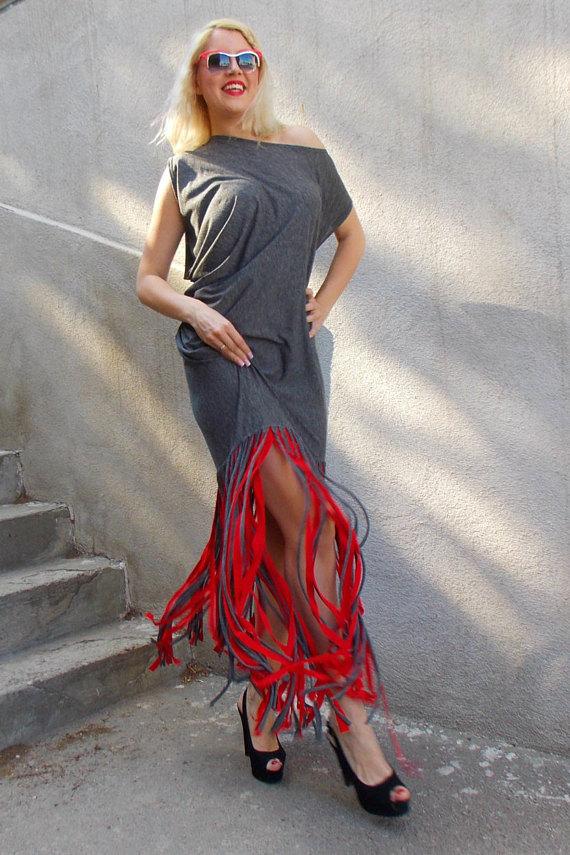 boho fringe dress