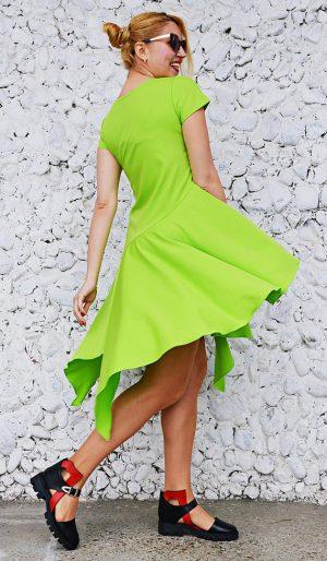 lime dress