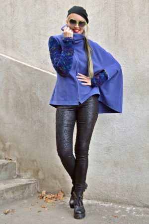 blue cloack