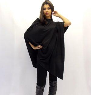 black loose tunic