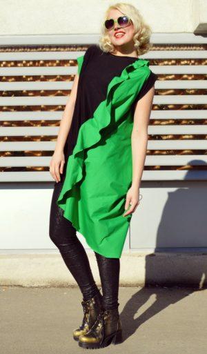 green long t-shirt