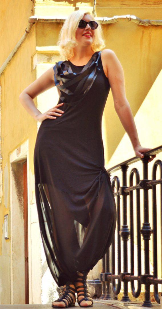 leather fringe jumpsuit