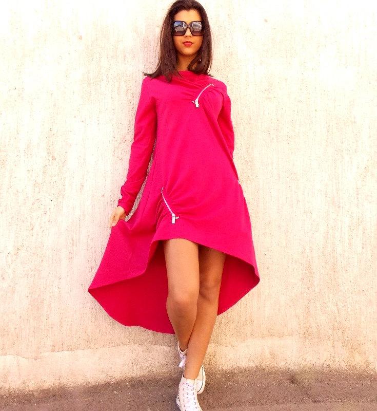 bca39985f7 Plus Size Pink Dress