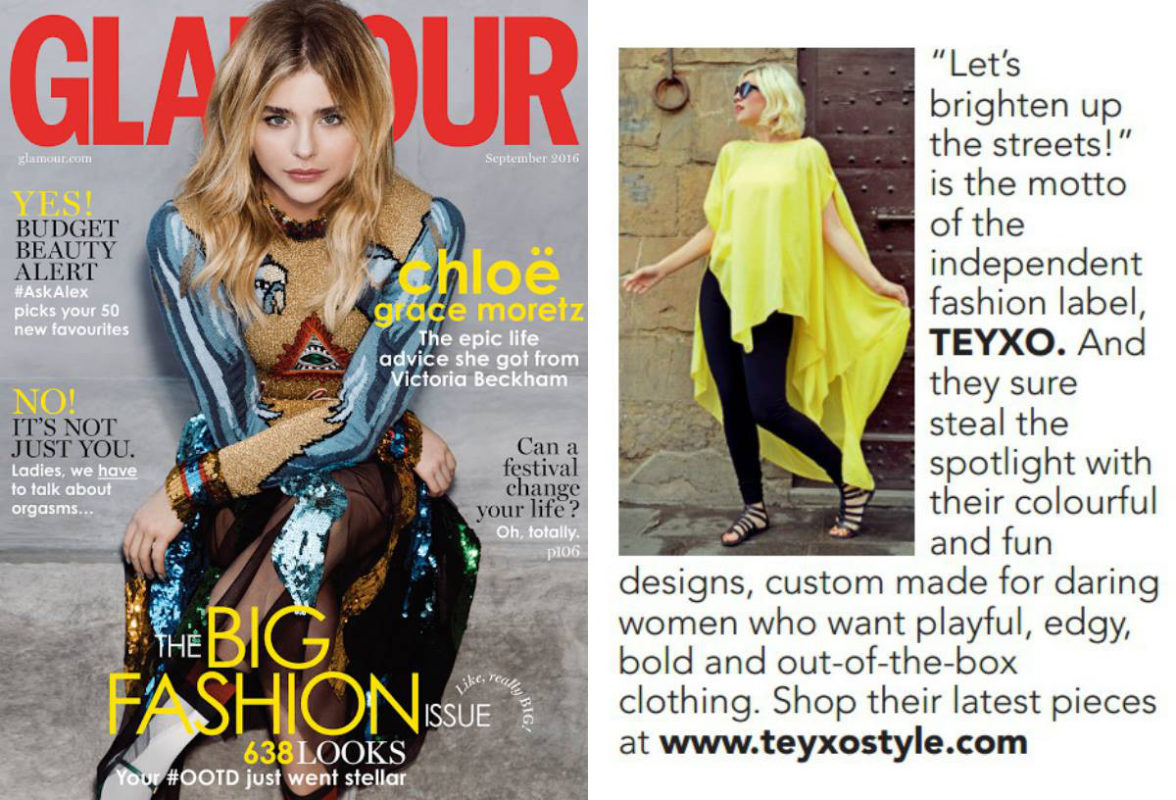 Glamour feature Teyxo