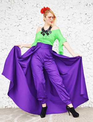 convertible skirt pants