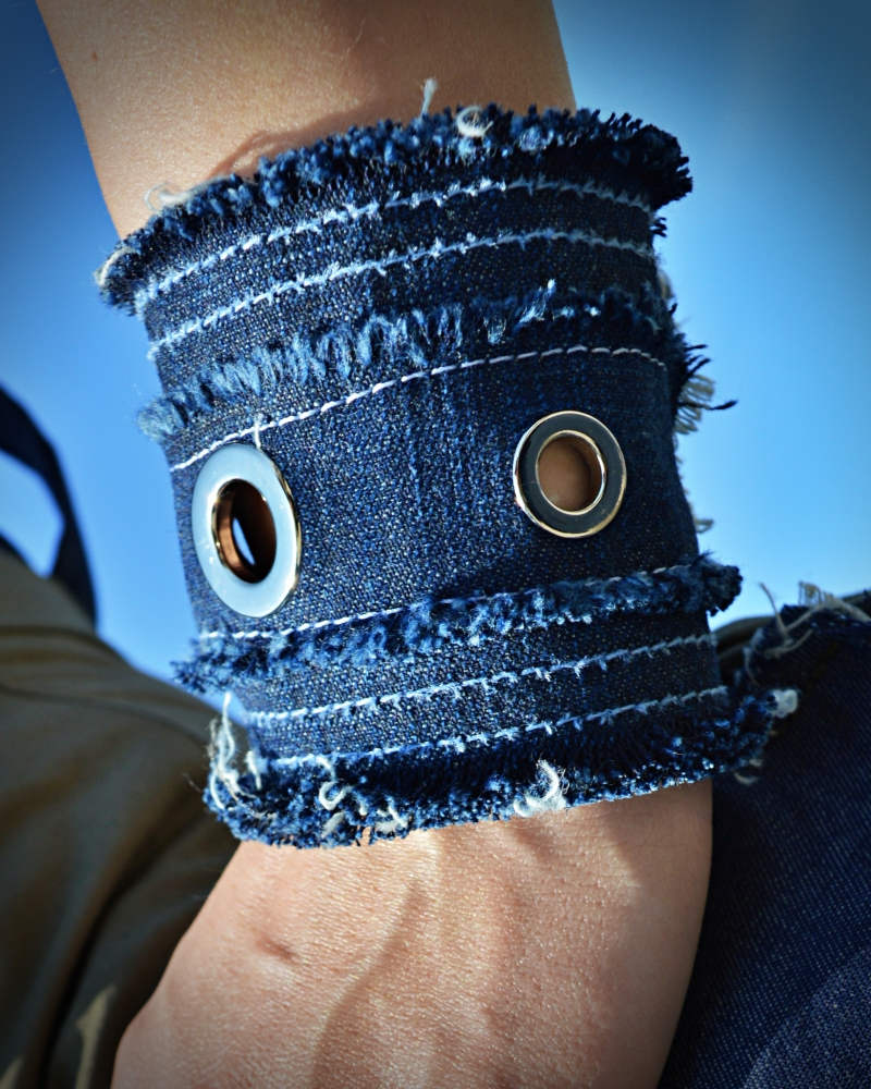 denim cuff for women