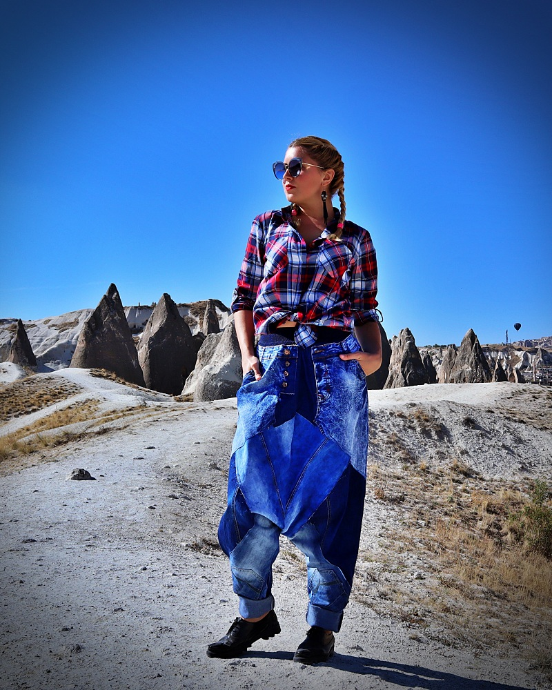 hippie jean trousers