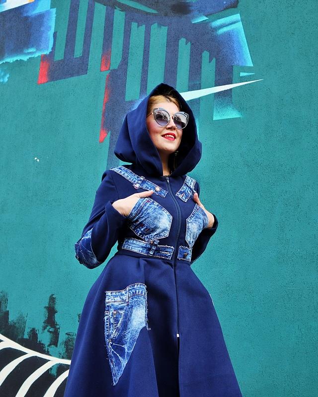 patchwork boho coat