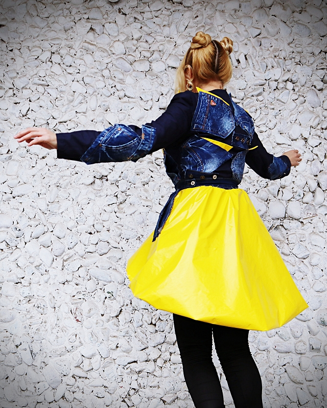 boho raincoat
