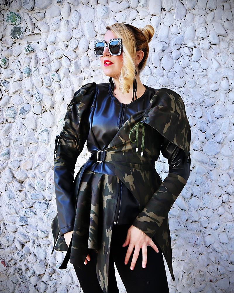 punk coat women